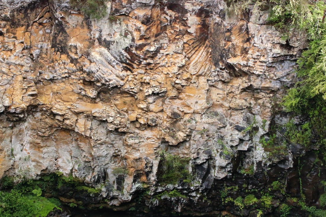 Dangar falls entablature