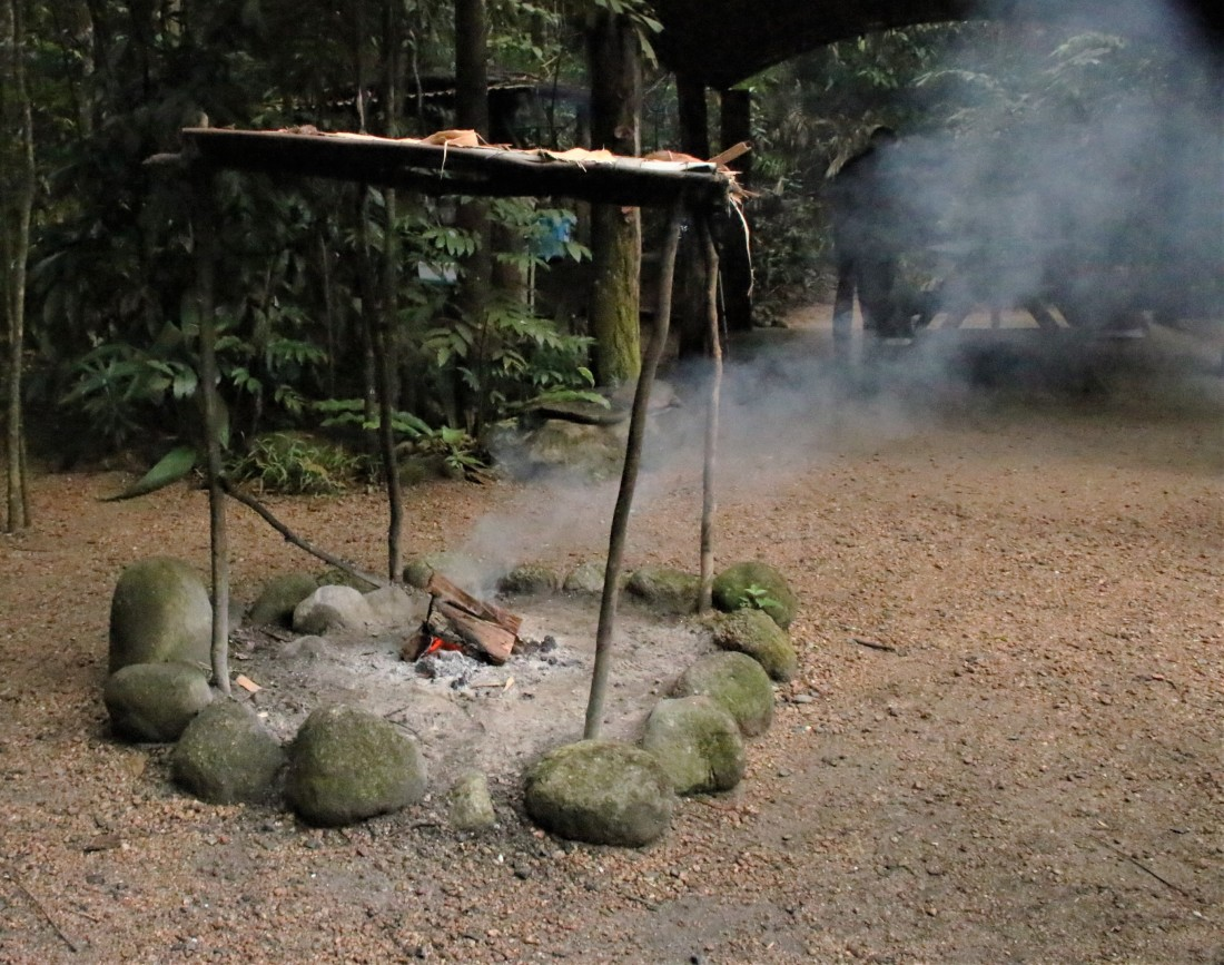 Smoking ceremony - Yalanji tribe